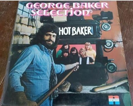 George Baker Selection – Hot Baker EX-/EX-