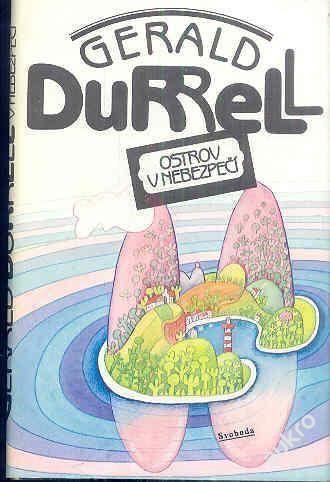 Gerald Durrell Ostrov v nebezpečí ilustrace Stanislav Lorenz