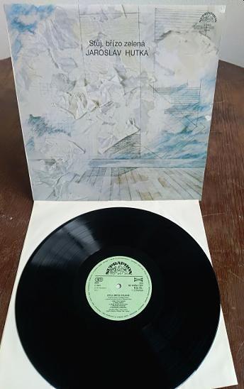 LP Jaroslav Hutka – Stůj Břízo Zelená NM/EX