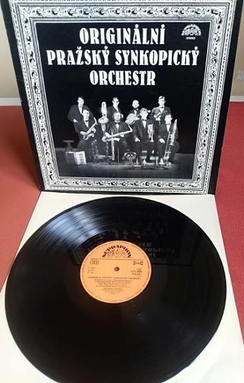 LP Originální Pražský Synkopický orchestr EX+/EX