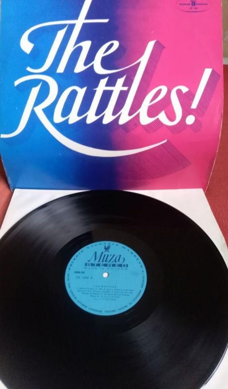 LP The Rattles – The Rattles! VG+/VG+