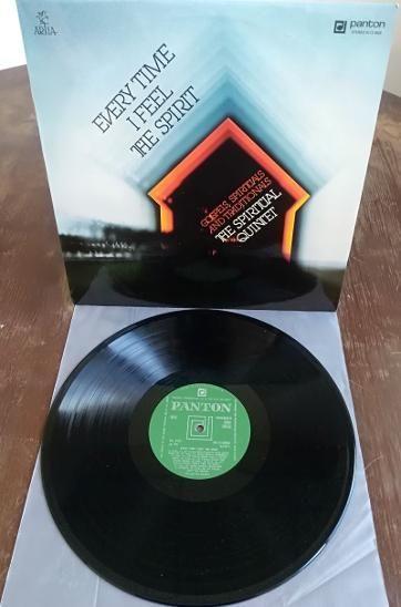 LP The Spiritual Quintet – Every Time I Feel The Spirit NM-/NM-