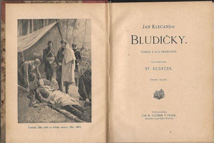 Jan Klecanda Bludičky ilustrace St.Hudeček