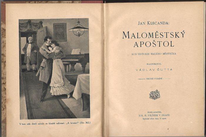 Jan Klecanda Maloměstský apoštol ilustrace Václav Čutta