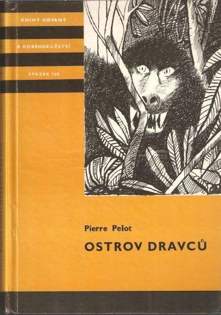 Pierre Pelot Ostrov dravců ilustrace Jiří Pavlík