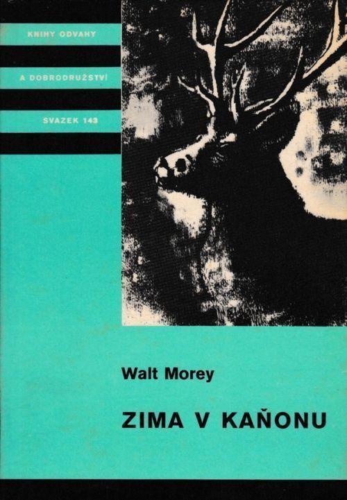 Walt Morey Zima v kaňonu ilustrace Jan Sládek