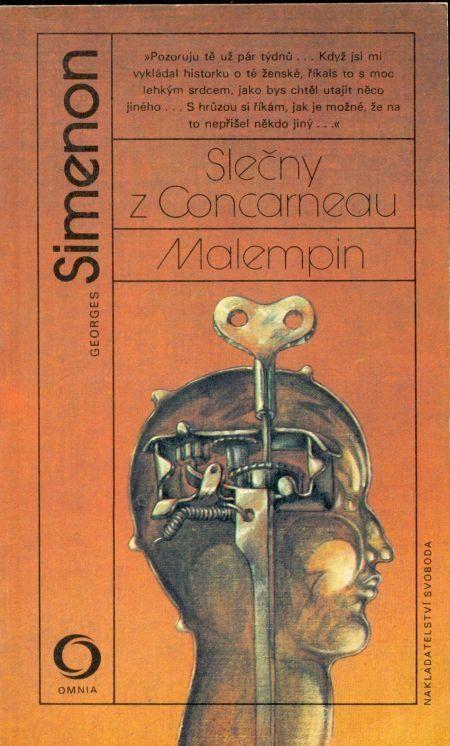 Georges Simenon Slečny z Concarneau / Malempin