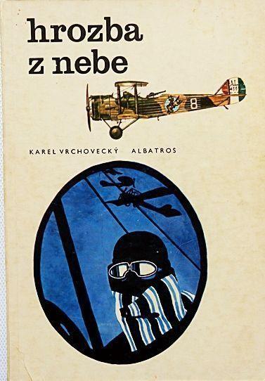 Karel Vrchovecký Hrozba z nebe ilustrace Miroslav Váša