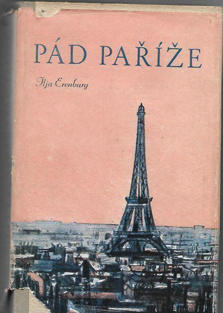 lja Erenburg Pád Paříže
