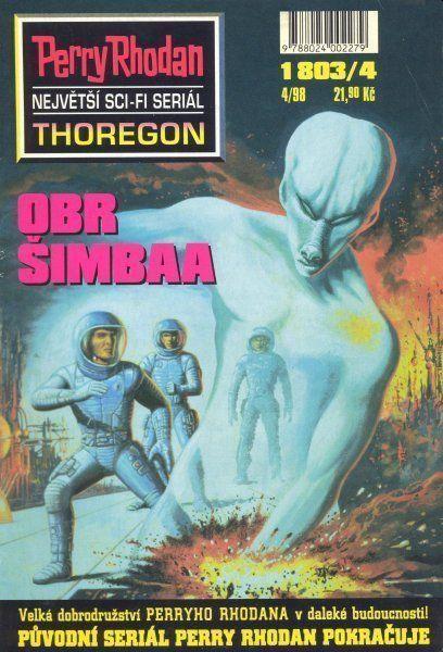 Hubert Haensel Obr Šimbaa 4 (sci-fi serial Thoregon)