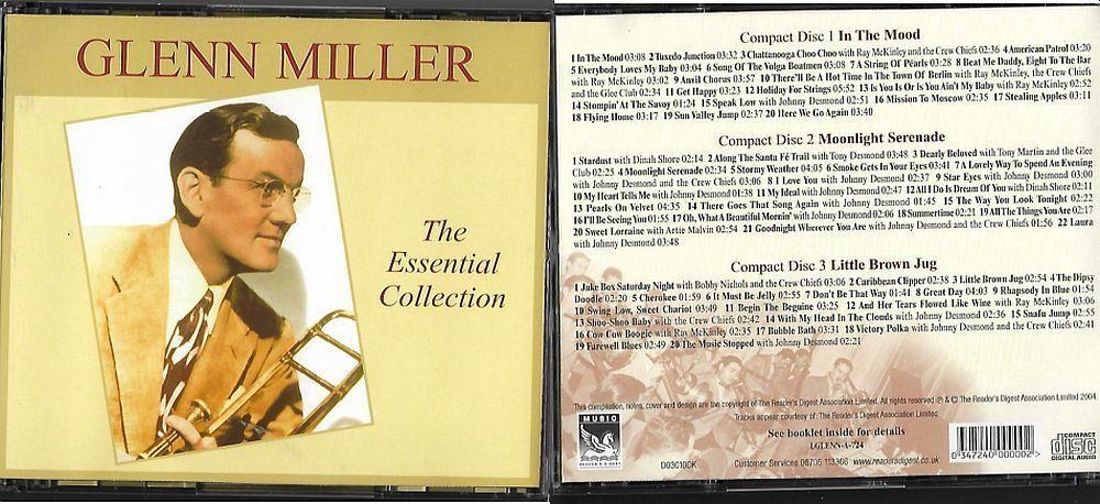 3CD Glenn Miller The essential collection Nové
