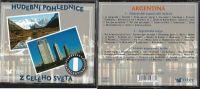 3CD Hudební pohlednice z celého světa Argentina  Nové