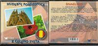 3CD Hudební pohlednice z celého světa Španělsko Nové