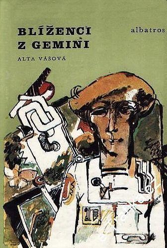 Alta Vášová líženci z Gemini ilustrace Jiří Peca