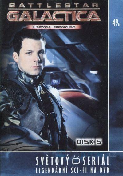 Battlestar Galactica I.sezona Disk 5 Nové