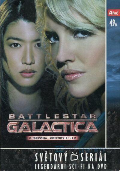 Battlestar Galactica II.sezona epizody 11-12 Nové
