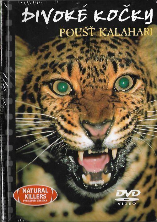 Divoké kočky-Poušť KalahariDVD+kniha (digipack) Nové