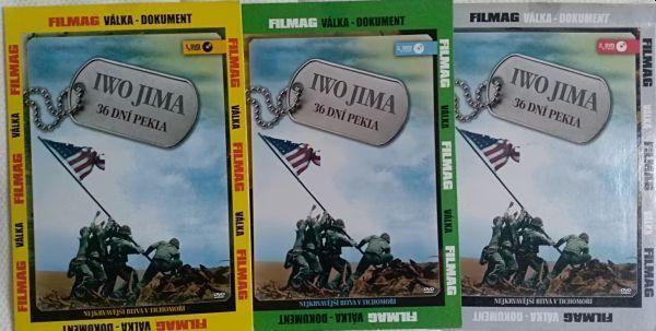 Iwo Jima 36 dní pekla díl 1,2,3. (3DVD) Nové