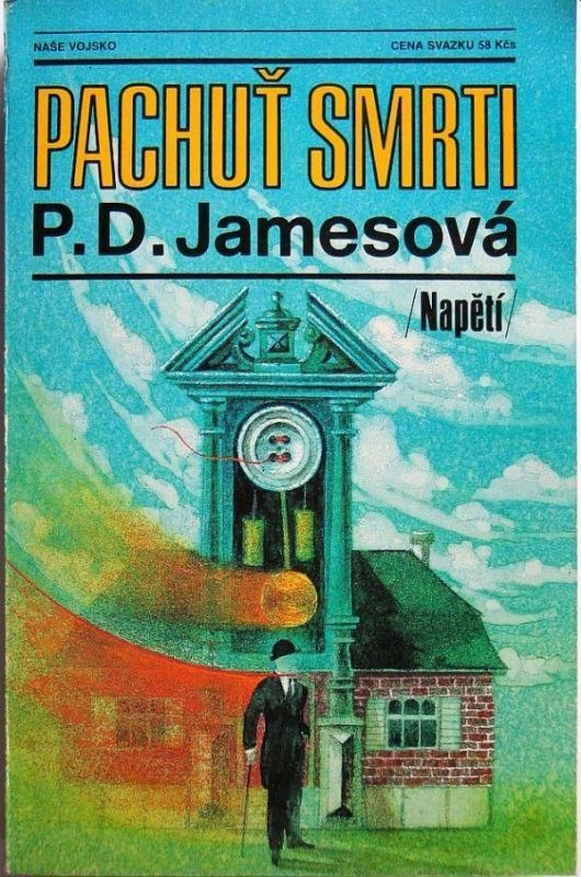 P. D. James Pachuť smrti