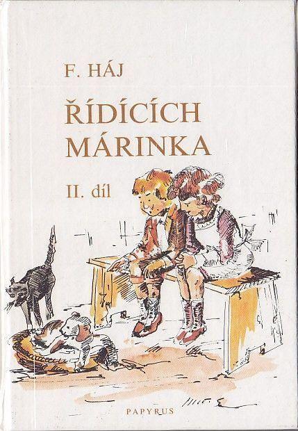 Řídících Márinka 2. díl ilustrace Karel Rélink