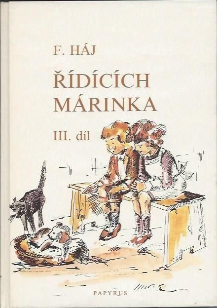 Řídících Márinka 3. díl ilustrace Karel Rélink