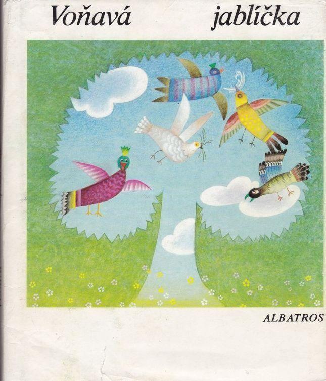 Voňavá jablíčka ilustrace Jana Sigmundová